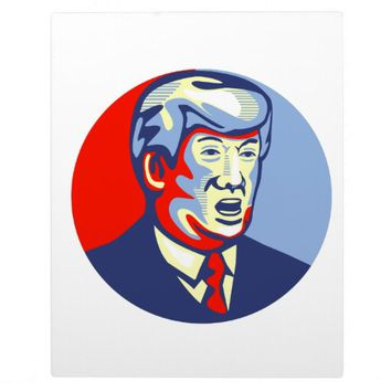 Donald Trump 2016 Republican Candidate Plaque