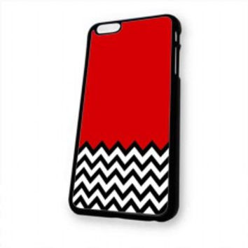 Welcome to twin peaks chevron for iphone 6 case