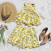 Lemon Lover Top & Shorts Set