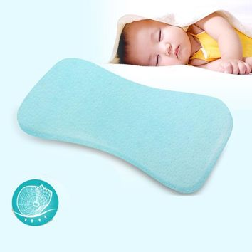 Baby Shaping Pillow Prevent Flat Head Infants Memory Foam Bedding Pillows Child Boy Girl Orthopedic Massage Cushion 0-24 Month