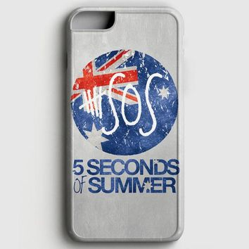 5 Seconds Of Summer Beach iPhone 6/6S Case