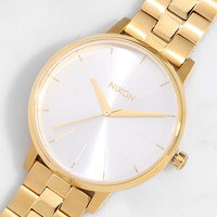 Nixon Kensington Gold and White Watch