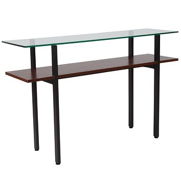 West End Collection Console Table with Shelf