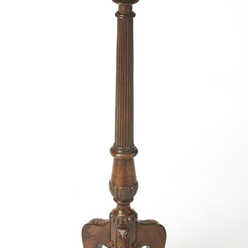 Chatsworth Vintage Oak Pedestal Plant Stand by Butler Specialty Company 1931001
