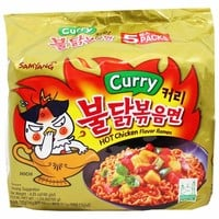 Samyang Spicy Chicken Curry Ramen 5 - 4.9 oz. packs (140g)