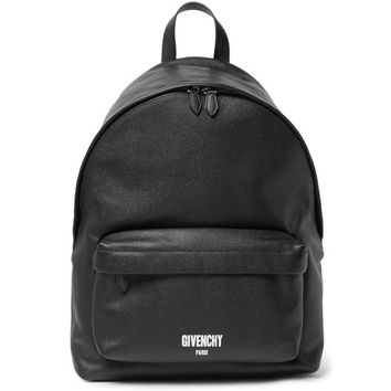 Givenchy - Pebble-Grain Leather Backpack