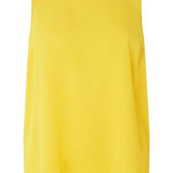 Ochre Sleeveless Shell Top | Dorothyperkins