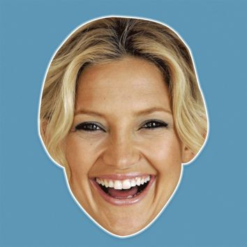 Surprised Kate Hudson Mask - Perfect for Halloween, Costume Party Mask, Masquerades, Parties, Festivals, Concerts - Jumbo Size Waterproof Laminated Mask