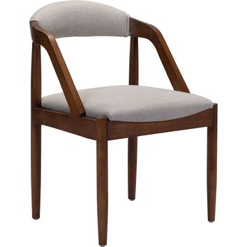 Jefferson Dining Chair, Light Gray