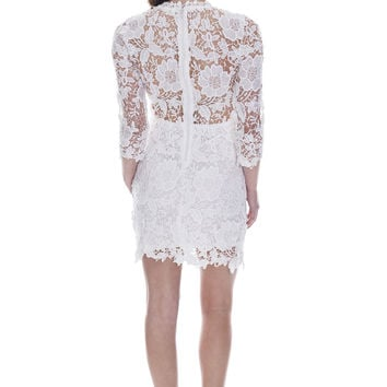 The Rachel Lace Dress - White Ed