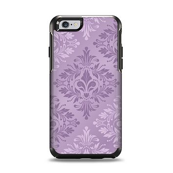 The Light and Dark Purple Floral Delicate Design Apple iPhone 6 Otterbox Symmetry Case Skin Set