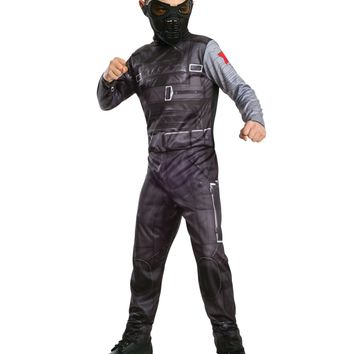 Child Captain America The Winter Soldier Costume, Marvel