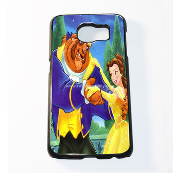 Disney Princess Belle Dancing With The Beast Samsung Galaxy S6 and S6 Edge Case
