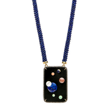 Black Jade Galaxy Necklace