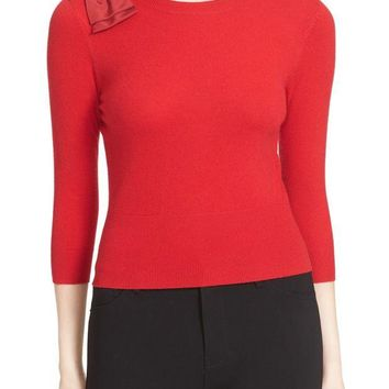 DCCKHB3 Ted Baker London | Callah Bow Crew Neck Sweater