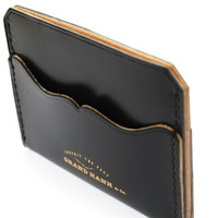 Grand Hanh Supreme Quality English Bridle leather 3 pocket Card case / Card wallet / Card holder / Card sleeve / Mens leather wallet / Purse