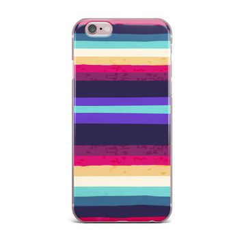"Nika Martinez ""Surf Stripes"" iPhone Case"