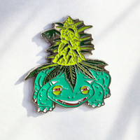 venusaur nug pokemon hat pin