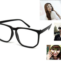 Big Face Glass Summer Fashion Cool Style Glassess Women Beauty Accessories