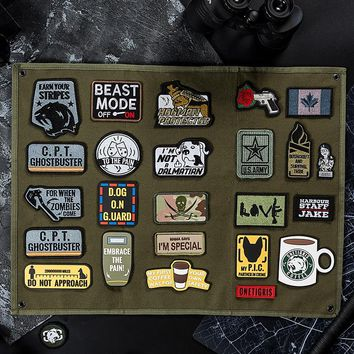OneTigris Fabric Patch Jam 1TG Patches Embroidery Cool Funny Patches Tactical Morale Military Patch Reveals The Unique Outdoors
