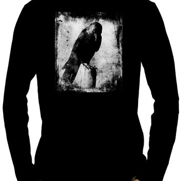 Evil Eye Raven Long Sleeve T-Shirt Gothic Alternative Clothing Gothic The Crow