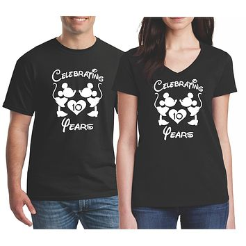 Anniversary Shirts for Couples - Wedding Anniversary T-Shirts