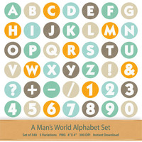 Hipster Digital Alphabet Hipster Pattern Hipster Letter Art Fathers Day Printable Alphabet Letters Download Grandpa Digital Letters Clipart