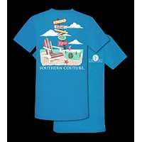 Southern Couture Preppy Beach Chair Arrows T-Shirt