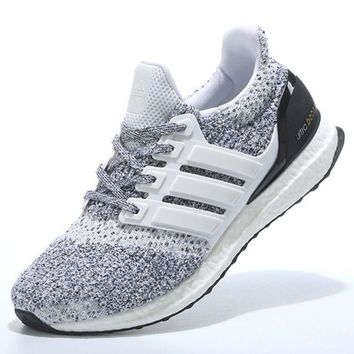 "Women ""Adidas"" Boost Fashion Trending Leisure Running Sports Shoes Grey"
