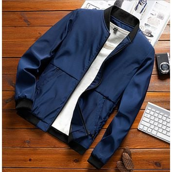 Men's jacket autumn new trend spring and autumn workwear youth jacket autumn jacket sports men's clothing