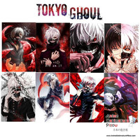 New Tokyo Ghoul Anime Wall Poster 8 pcs. Home Decor A3 Poster Set WP50