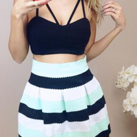 Crisscross Cropped Top
