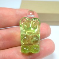 Gummy Bear Pendant by White Chocolate Glass