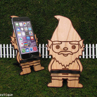 PT PHONE GNOME - Universal Smart Phone Stand iPhone Dock - Fits iPhone 6, iPhone Plus, iPhone 5, iPhone 4, Android, Samsung Galaxy s5 s4, Lg