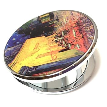 Van Gogh Cafe Terrace Cosmetic Magnification Mirror 2.75W
