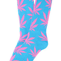 Huf Socks Plantlife in Baby Blue