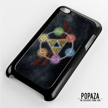 Zelda Triforce Element iPod Touch 4 Case