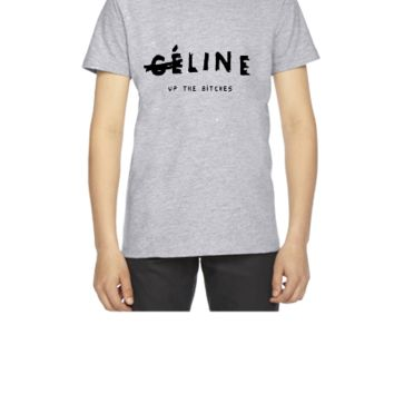 Line up the bitches - Youth T-shirt