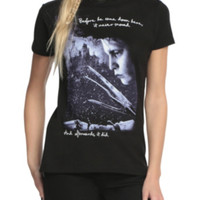 Edward Scissorhands It Never Snowed Girls T-Shirt