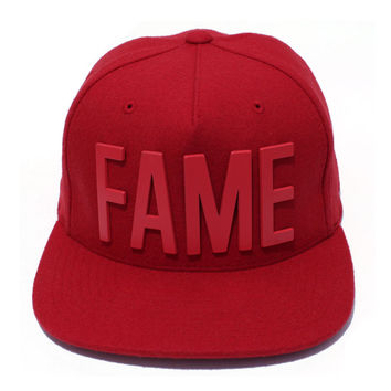 Metal Ewing Red Snapback