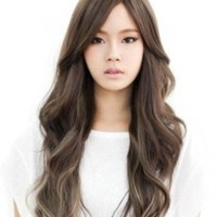 Dreamworld® Western Women's 65cm Charming Long Curly Wig+wig Cap (Model: Jf010485) (Light Brown)