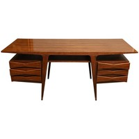 Danish Mid - Century Writing Desk