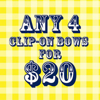 Any 4 Clip-On Bows