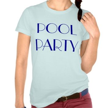 Pool Party Light Blue