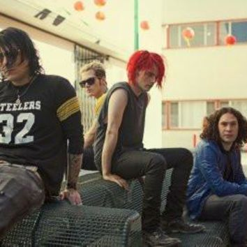My Chemical Romance poster Metal Sign Wall Art 8in x 12in