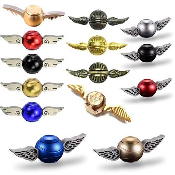 Cupid Fidget Spinner Generation Hand Spinner  wing  Snitch Harry Potter Spinner Hand EDC ADHD Copper Fidget top spinner