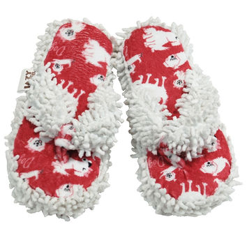 Dog Tired Women's Spa Slippers