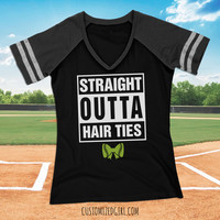 Outta Hair Ties For Softball