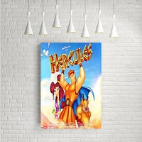 DISNEY HERCULES ARTWORK POSTERS