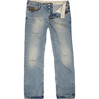 River Island MensLight wash Dean straight jeans